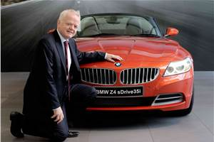 BMW Z4 facelift launched at Rs 68.9 lakh
