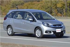 2013 New Honda Mobilio MPV review