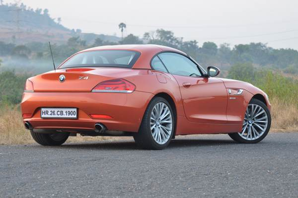 New 2013 Bmw Z4 Review Test Drive Autocar India