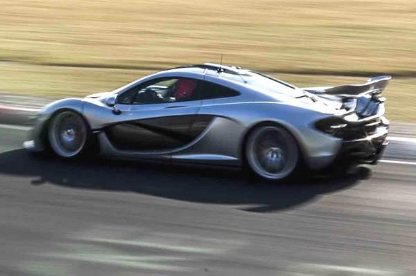 McLaren confirms sub-seven-minute Nurburgring lap for P1