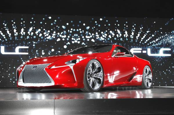 Lexus LFA replacement in the works