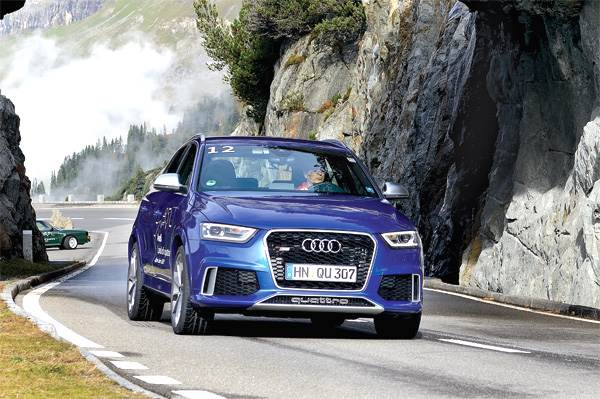 Audi RS Q3 SUV review, test drive
