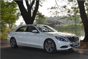 New 2014 Mercedes S-class India review, test drive