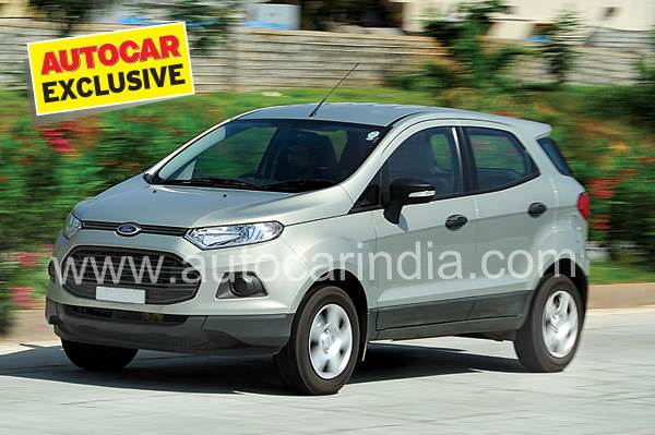 New Ford EcoSport petrol review, test drive