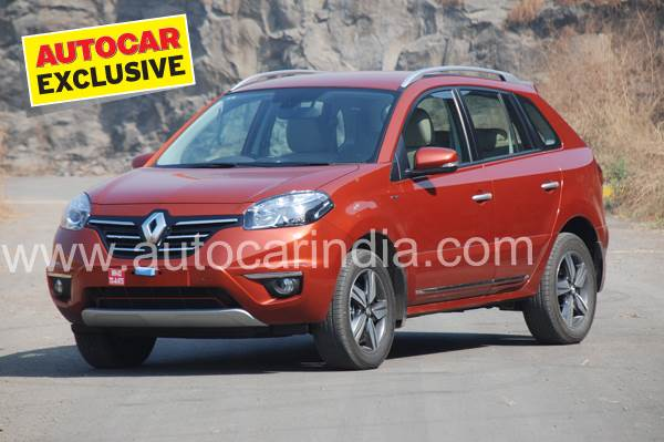 Renault Koleos SUV facelift review, test drive