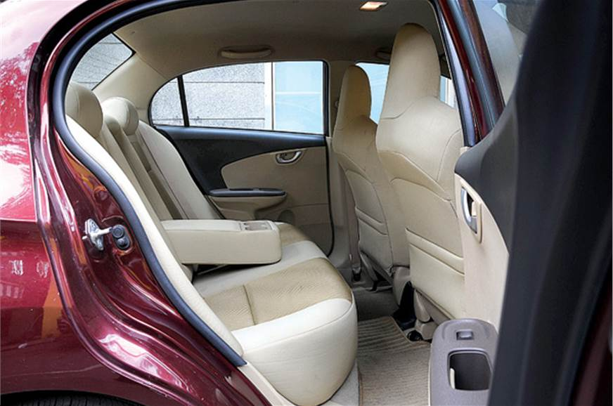 Rear legroom belies its exterior size and most wont be le...