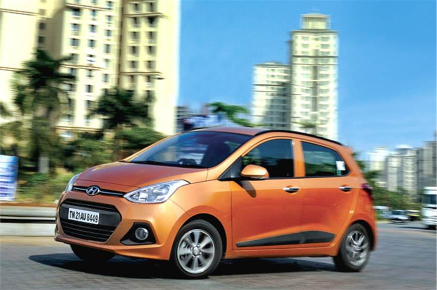As a city car, the Grand i10's fitness for purpose is sec...