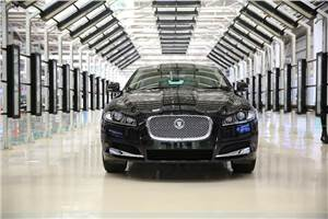 Jaguar XF 2.0 petrol launched in India