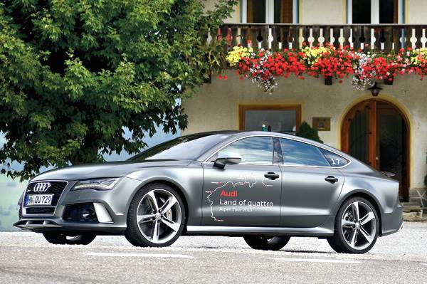 New Audi RS7 review, test drive