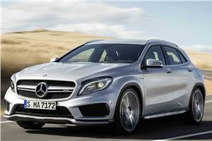 New Mercedes-Benz GLA45 AMG SUV revealed