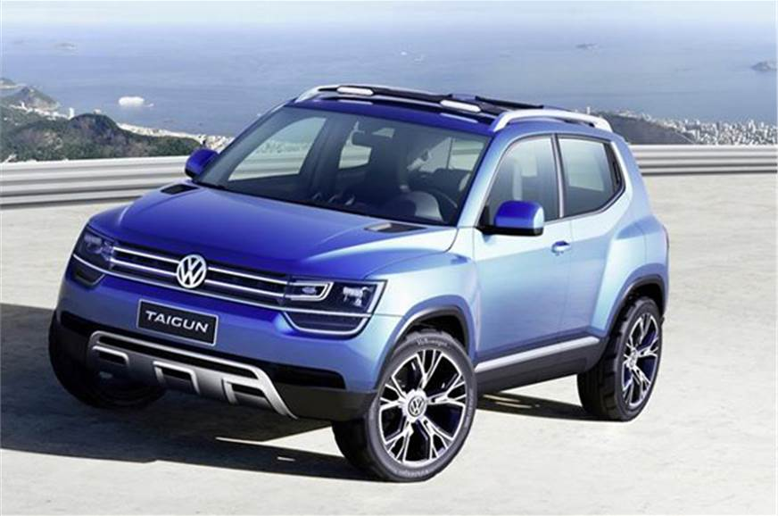 The new Taigun is VW's answer to the Ford EcoSport.