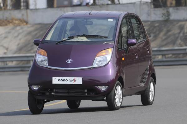 New Tata Nano Twist review, test drive