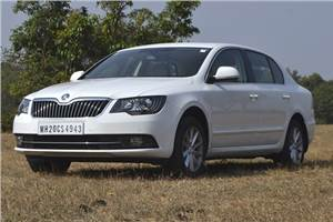 Skoda Superb facelift review, test drive