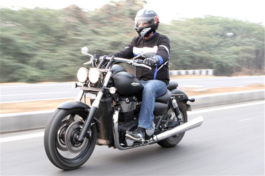 The Triumph Thunderbird Storm is priced at Rs 13 lakh (ex...