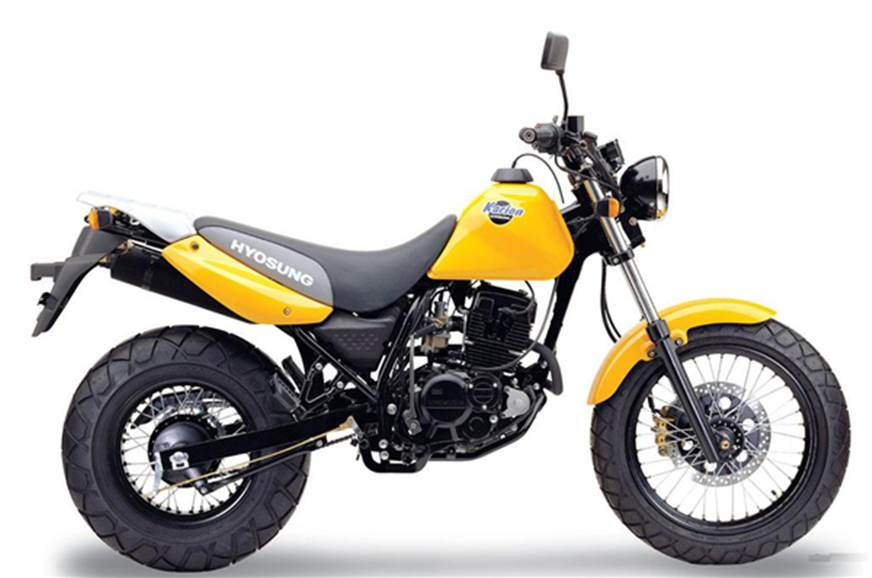 Hyosung will unveil 3 new variants/bikes at Auto Expo.