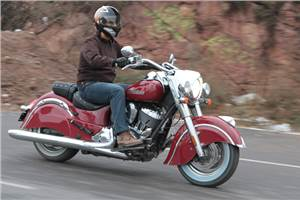 New Indian Chief Classic Cruiser review, test ride