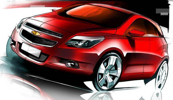 The Chevrolet Adra concept is GM India's answer to the Ford EcoSport.