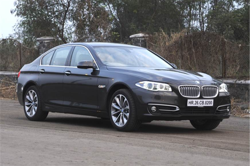 The updated BMW 520d gets more equipment and minor stylin...