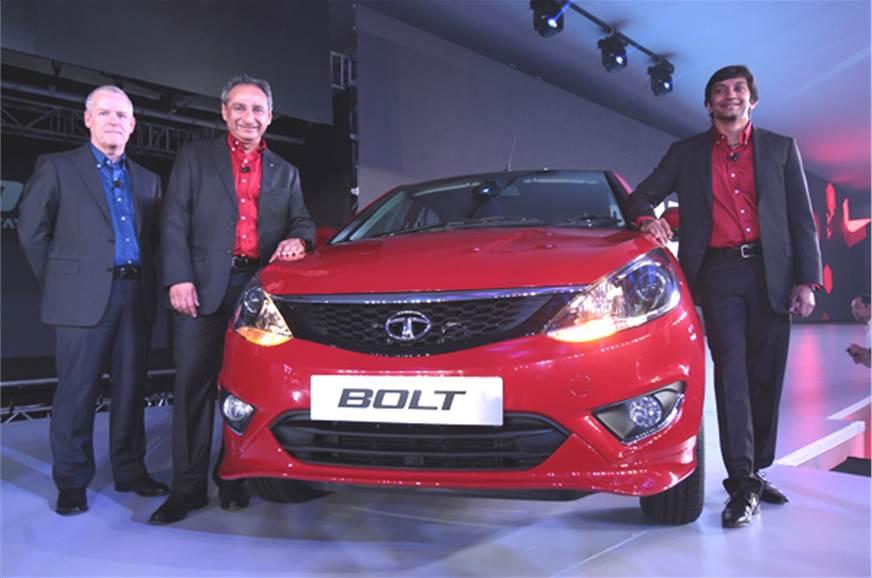 The new Tata Bolt hatchback.
