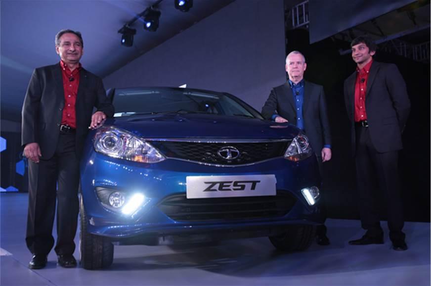 The new Tata Zest sedan.