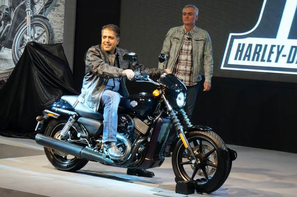 Harley-Davidson has finally launched the Street 750 at the Auto Expo 2014
