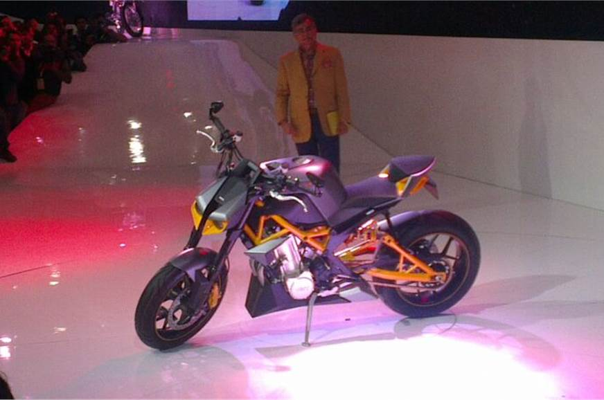 Hastur concept is a naked street bike powered by a 79bhp ...