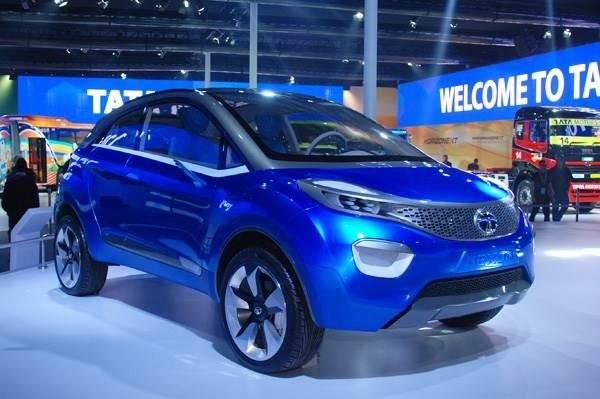 Tata Nexon concept points at future compact SUV