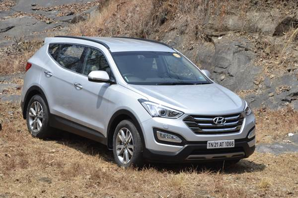 New Hyundai Santa Fe India review, test drive