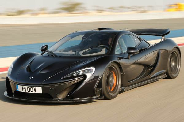 McLaren P1 supercar review, test drive