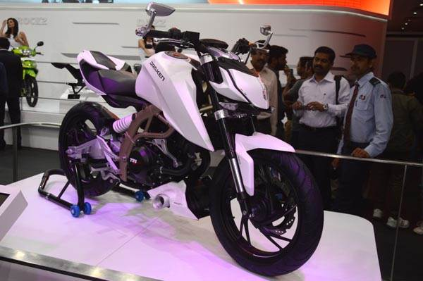 TVS Draken-X21 concept first look review