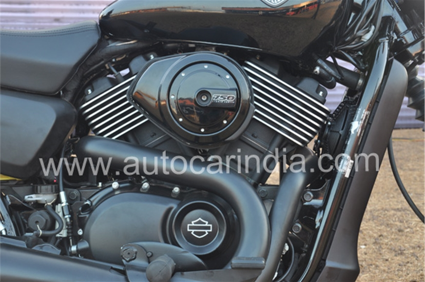 The all new 60° V-Twin, 749cc, REVOLUTION X™ engine rumbl...