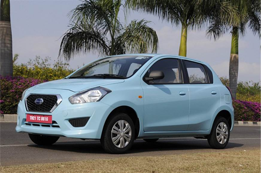 The Datsun Go is powered by a 1.2-litre petrol engine.