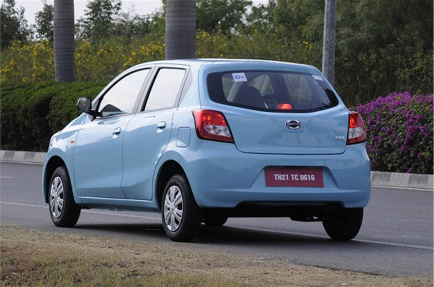 Datsun Go gets to 100kph in a decent 15 seconds.