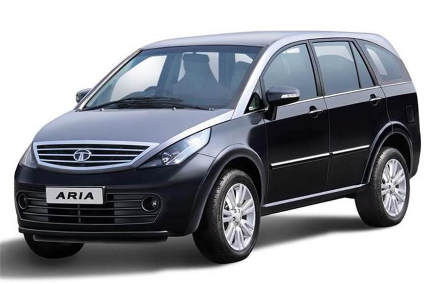 Updated Tata Aria from last year's Geneva Motor Show pict...