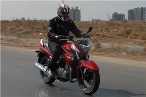 Suzuki Inazuma review, test ride