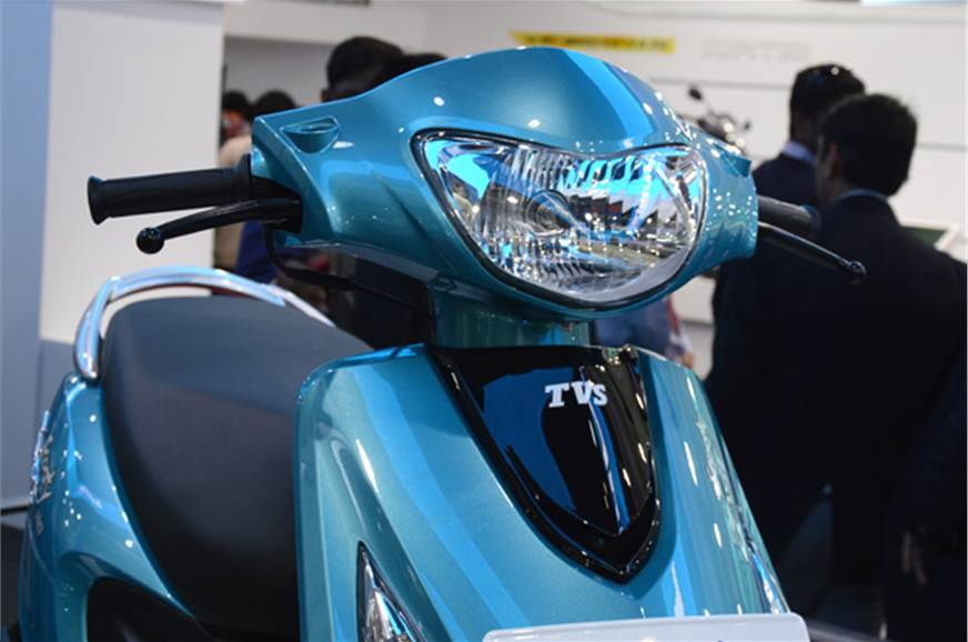 The new Scooty Zest is completely redesigned with fresh s...