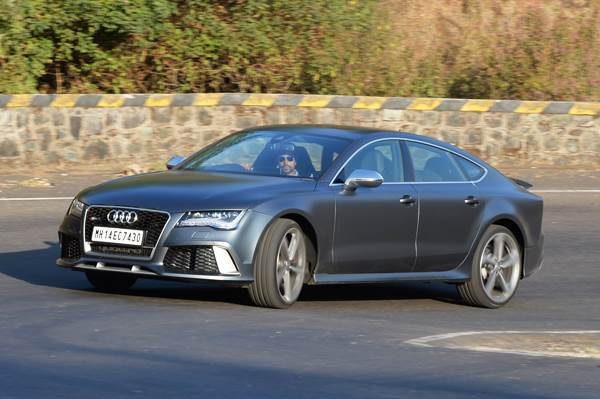 Audi RS7 India review, test drive
