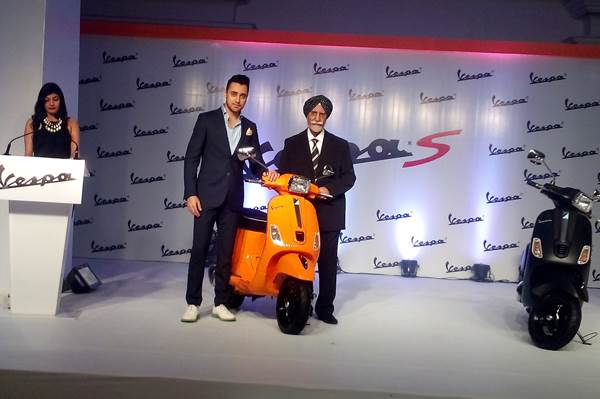 Vespa S scooter launched at Rs 74,414