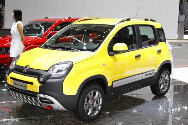 Geneva 2014: New Fiat Panda Cross makes world debut