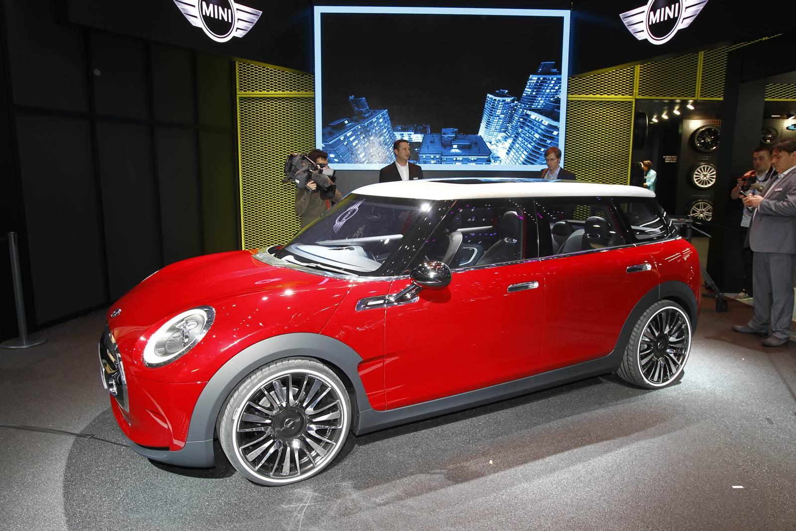 Geneva 2014: New Mini Clubman concept shown