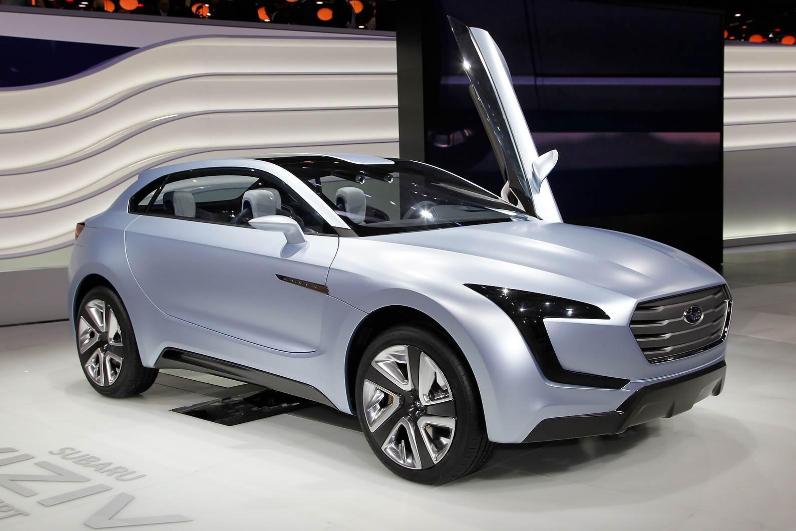 Geneva 2014: Subaru Viziv concept unveiled