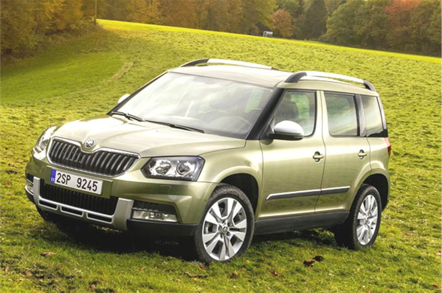 With the facelifted Skoda Yeti that goes on sale later th...