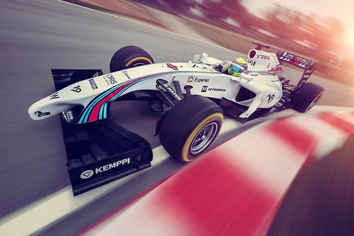 Williams F1 team unveils its Martini livery