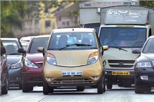Tata Nano Twist review, test drive