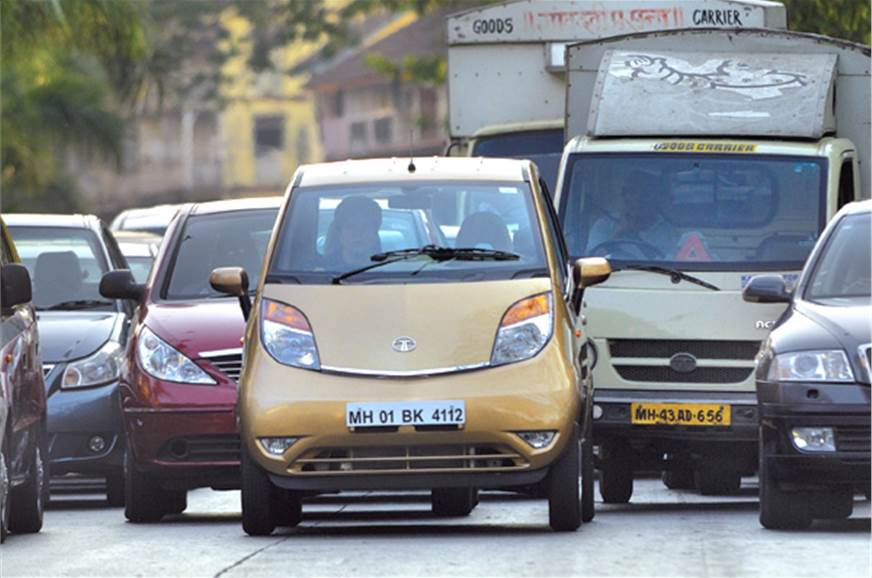 With the new Tata Nano Twist, you can do a U-turn where o...