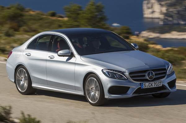 New Mercedes-Benz C-class review, test drive