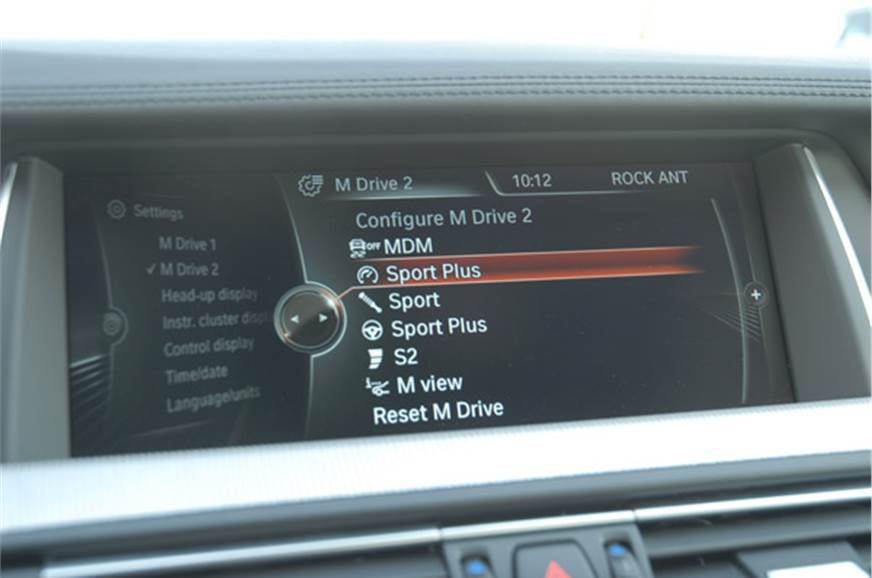 You can set up the car to change behavior at the touch of...