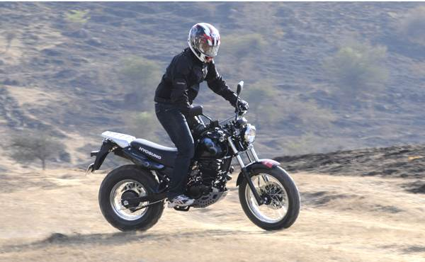 Hyosung RT125D review, test ride