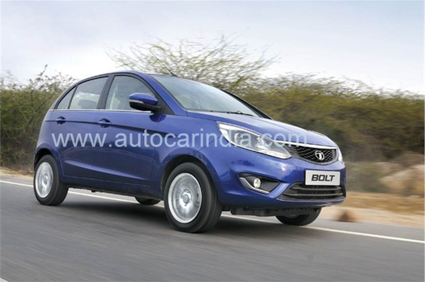 The Tata Bolt hatchback is expected to enter our showroom...