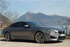 BMW M6 Gran Coupe review, test drive